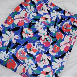 J Crew Floral Pencil Skirt | Size 0